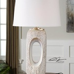 Carbonado Table Lamp by Uttermost