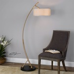 Vardar Floor Lamp by Uttermost