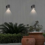 Volume LED Outdoor Wall Mount by Eurofase