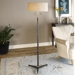 Levice Floor Lamp by Uttermost