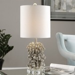 Silver Coral Table Lamp by Uttermost
