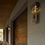 Shard Outdoor Wall Light by Hubbardton Forge