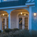 Meridian LED Outdoor Pendant by Hubbardton Forge