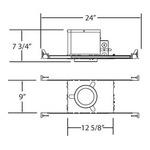 3 1/4 New Construction IC GU10 Housing -  /
