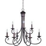 Loft Two Tier Chandelier