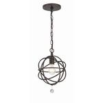 Solaris Ceiling Light Fixture - English Bronze