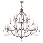 Chesterfield 20 Light Chandelier