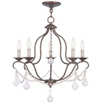 Chesterfield 5 Light Chandelier