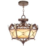 Bristol Manor Pendant/Flush Mount