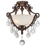 Elizabeth Ceiling Semi Flush Mount