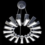 Wedge LED Chandelier