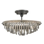 Upton Oval Semi-Flush Ceiling Mount