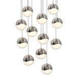 Grapes 12 Light Round Pendant