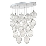 Macri LED Oval Pendant