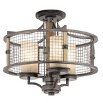 Ahrendale Chandelier/Semi Flush Mount