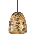 Naturals Dome Pendant with Stem
