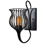 Encaged Wall Sconce