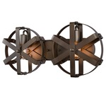 Reel 2 Light Wall Sconce