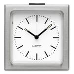 Steel Index Block Alarm Clock