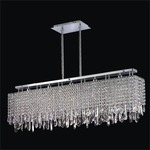 Innovations Linear Suspension - Polished Chrome / Signature Series Crystal