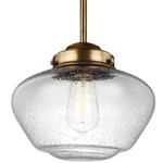Alcott Wide Pendant with Edison Bulb