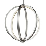 Khloe Pendant - Satin Nickel