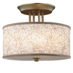 Parchment Park Semi Flush Mount