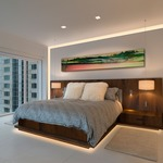 Verge Wall 5W 2K4K Variable White Plaster-In System - Satin Aluminum