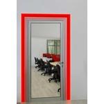 Verge Door Frame 3W RGB Plaster-In System - Satin Aluminum