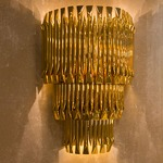 Matheny Tier Wall Light - Gold