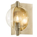 Pluto Wall Light - Soft Gold / Clear