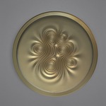 Nebula Wall / Ceiling Light - Gold /