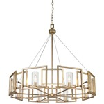 Marco Chandelier - White Gold /