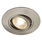 R3-488 3 Inch Adjustable Spot Gimbal Trim - Brushed Nickel /