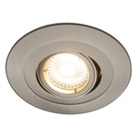 R4-488 4 Inch Round Adjustable Spot Trim - Brushed Nickel /