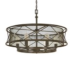 Jackson Round Pendant - Oil Rubbed Bronze