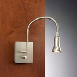 Bedside 6265 Reading Light - Satin Nickel