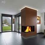 Verge Ceiling 2.5W Plaster-In System - Satin Aluminum