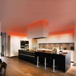 Verge Ceiling 3W RGB Plaster-In System - Satin Aluminum