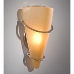 2969 Wall Light - Satin Nickel / Terracotta