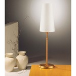 Illuminator 6263 Table Lamp - Antique Brass / Satin White