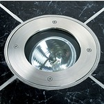 Inground 1-11 Up Light - Stainless Steel  /
