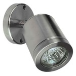 Wall Spot Halogen Wall Light - Stainless Steel  /