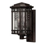 Tahoe Exterior Wall Sconce - Bronze / Clear