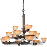 Lineage 15 Light Chandelier