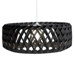 Pilke 80 Drum Pendant - Black