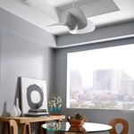 Elliptical Ceiling Fan by Monte Carlo