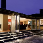 12V Horizontal Scoop Outdoor Wall / Step Light -