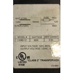 AT60 Class 2 60W 12V Magnetic Transformer - Black /