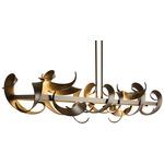 Folio Large LED Pendant - Bronze
